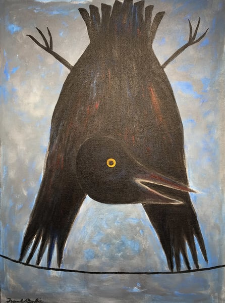 Gymnastic Crow Art | Fountainhead Gallery