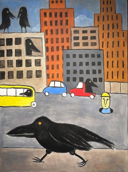 City Crows Art | Fountainhead Gallery