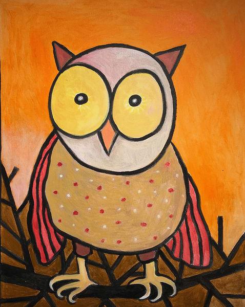 Owl On A Limb Art | Fountainhead Gallery