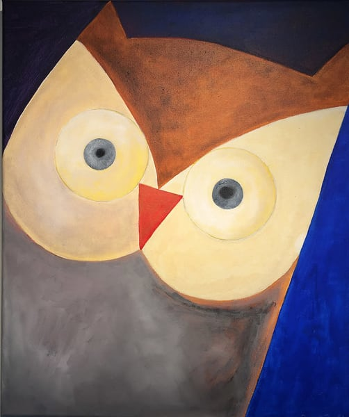 Owlbatross Art | Fountainhead Gallery