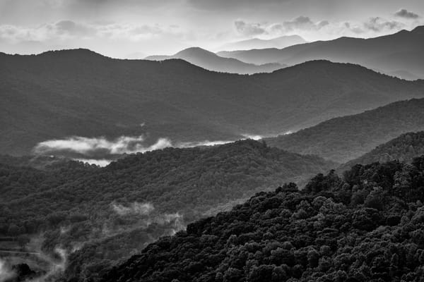 Nantahala Haze - Smoky Mountains fine-art photography prints