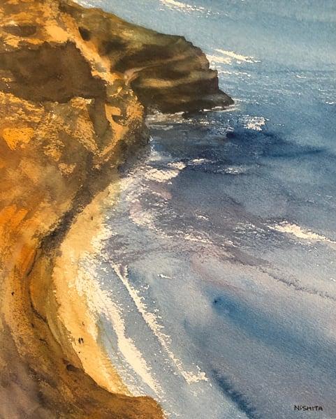 Looking Down The Cove Art | Nishitas Art