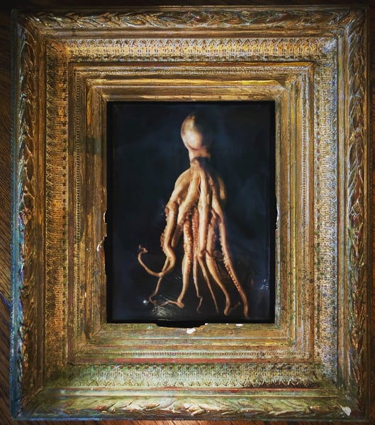 The Octopus, Limited Edition, Encaustic,