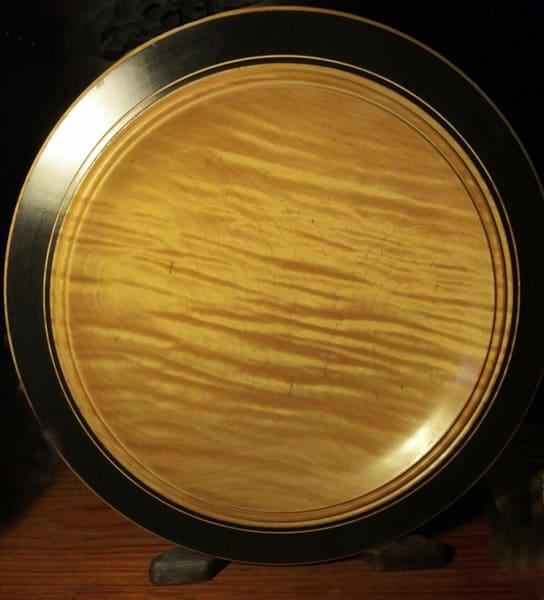 Contemporary Wooden Plate Art | artalacarte