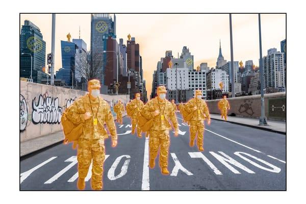 Orange Troops Photography Art   Cid Roberts Photography LLC