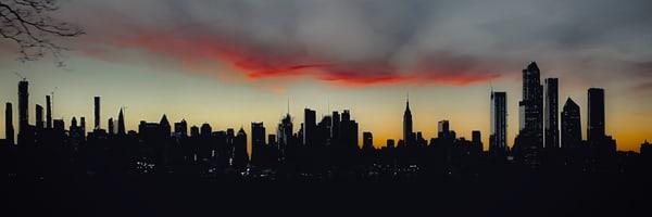 Skyline Silhouette  Photography Art | Cid Roberts Photography LLC
