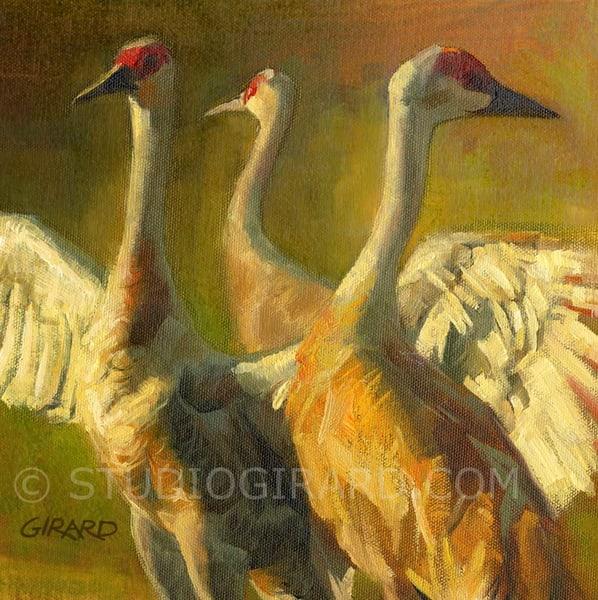 Prelude To A Dance Bird Block | Studio Girard