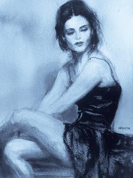 The Dancer In Repose Art | Nishitas Art