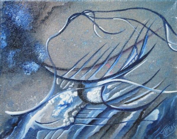 Blue Mood Art   Dave Jeffers Artist