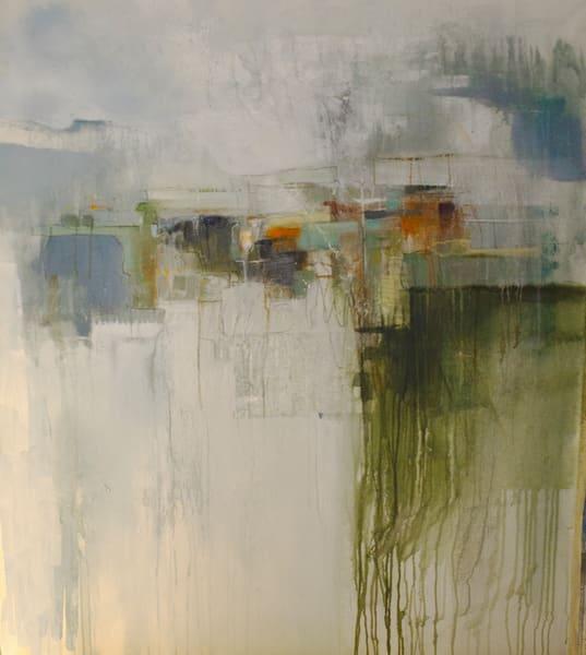 Echoes : : Istra : Rain, Sea And Sky Become One Art | stephanie visser fine art
