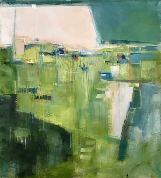 Echoes : : Pushing Back The Sea Art | stephanie visser fine art