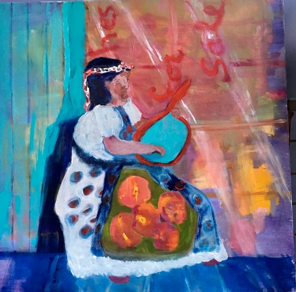 Purple Rain Art | Mary Kinzelberg Art
