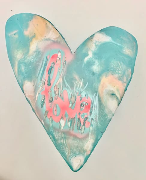 Large Heart #2 / Jannet Haitas