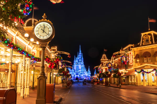 Timeless At Disney's Magic Kingdom Photography Art | William Drew Photography