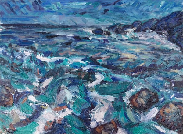 """Las Cujas"" Art | Daniel Kanow Fine Art"
