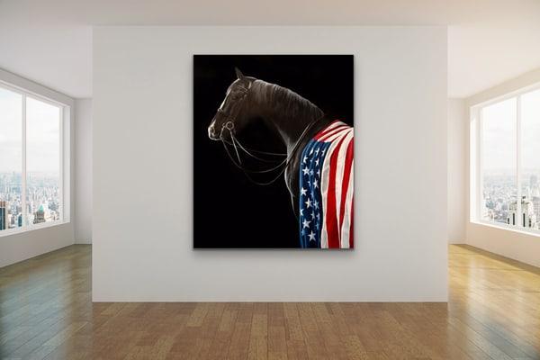 Ace, Darkhorse #10   Debra Ferrari Fine Art
