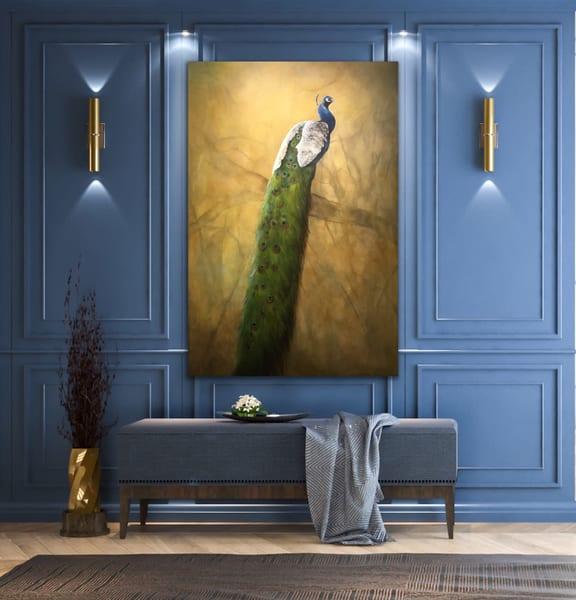 Peacock | Debra Ferrari Fine Art