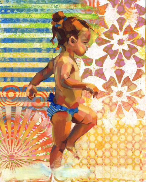 Caribbean Beach Scene Iii Art | Bianca Berends