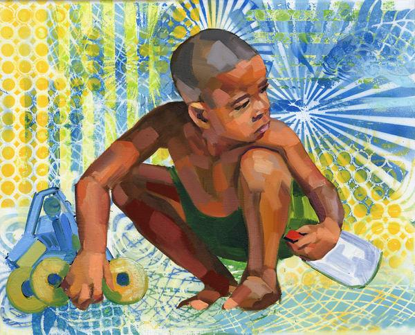 Fine Art Print: Caribbean Beach Scene Ii Art | Bianca Berends