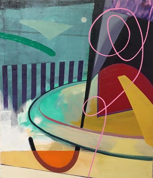 36x30 Oil On Canvas Fireflys Night Art | sheldongreenberg