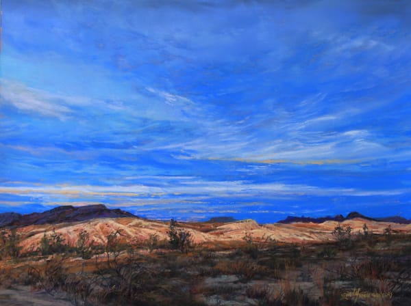 Lindy Cook Severns Art | Terlingua At First Light, print