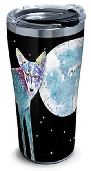Fly Me To The Moon Stainless Steel Tumbler | Madaras Gallery