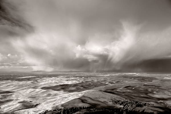 Steptoe Storm, Palouse Prairie,  # 7823 Photography Art | Mary Edwards Photography