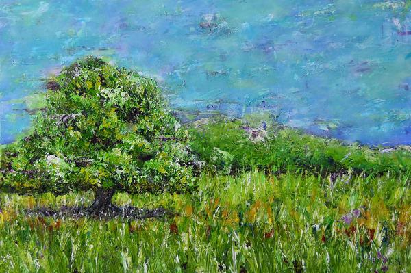 Tree in California Art – Original Paintings – Fine Art Prints on Canvas, Paper, Metal & More