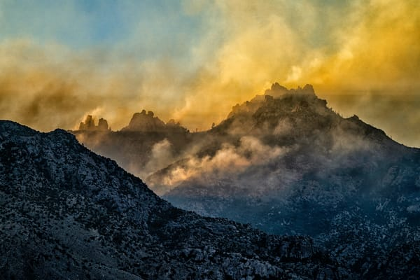 Smokey Sunset Photography Art | Carol Brooks Parker Fine Art Photography