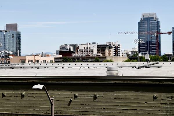 Cityscape Photo, downtown, portland