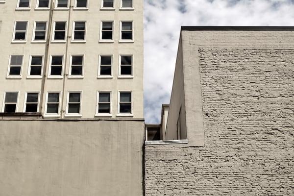 Geometric Lines, downtown, portland