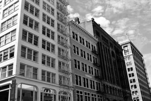 modern past, portland, downtown