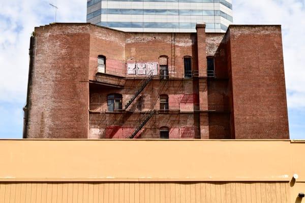 city layers, downtown, portland