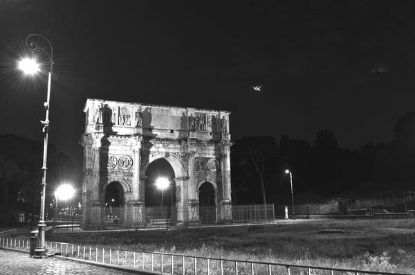 Arch In The Night Art   Renee Bitinas Fine Art