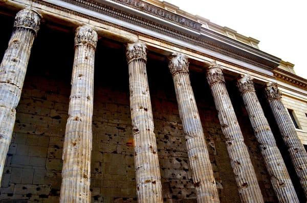 Columns Of Time Art   Renee Bitinas Fine Art