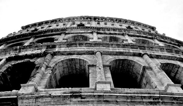Coliseum Glance  Art   Renee Bitinas Fine Art