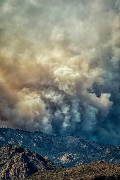Bighorn Fire On Radio Ridge 2 Photography Art | Carol Brooks Parker Fine Art Photography