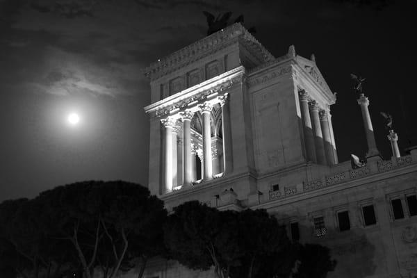 Temple In The Night Art   Renee Bitinas Fine Art