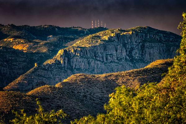 Bighorn Fire On Radio Ridge 3 Photography Art | Carol Brooks Parker Fine Art Photography