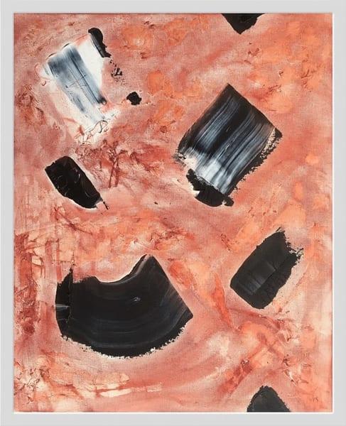 Desert Rock (Framed) Art | Makiko Harris Art