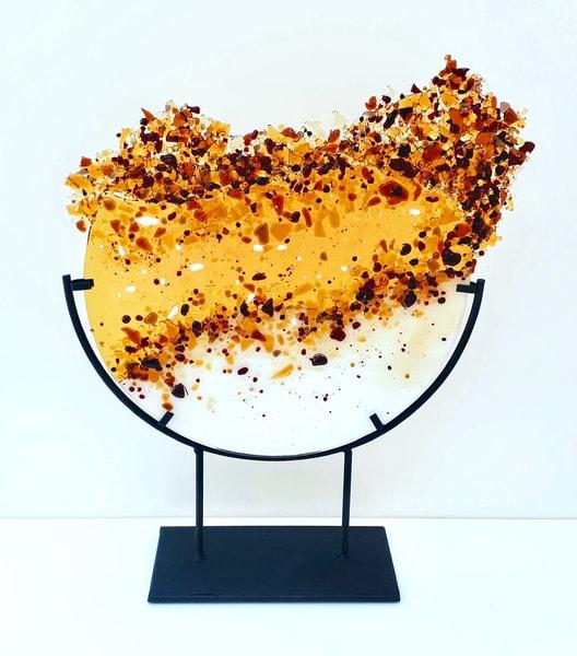 Amber Explosion Art | artloversgallery