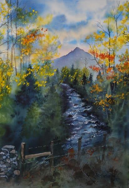 Cottonwood Creek Magic Art | Jan Thoreen Lewis Fine Art