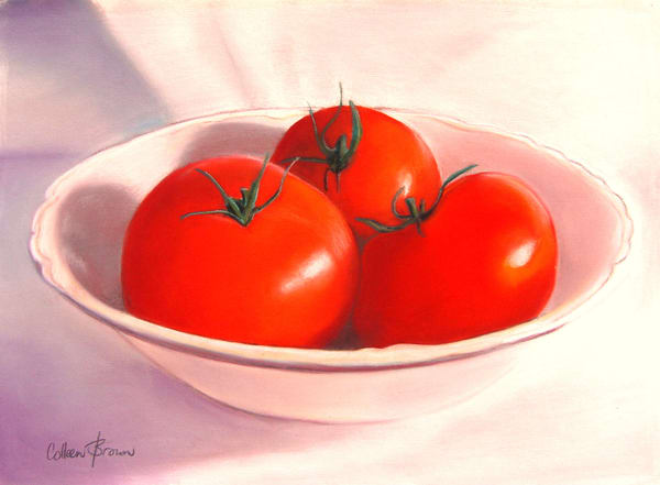 Summer Tomatoes Art | Colleen Brown Studio