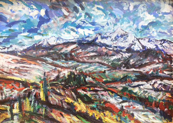 """Wilson Mesa"" Art   Daniel Kanow Fine Art"