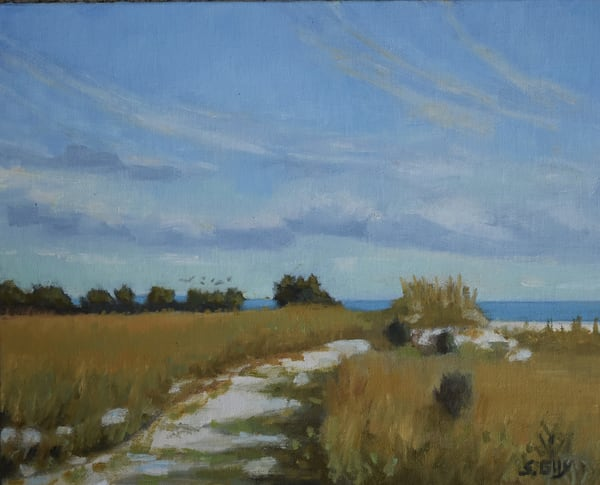 Along The Path   Original Oil Art | Sharon Guy
