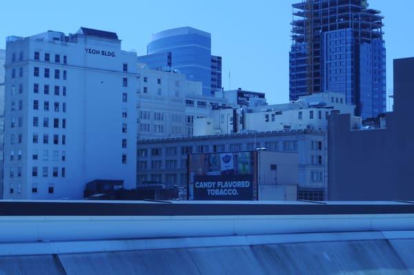 downtown, portland, city blues