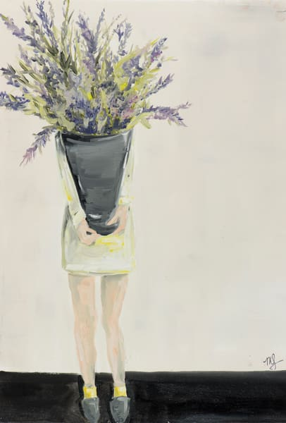Lavender Art | Meredith Steele Art