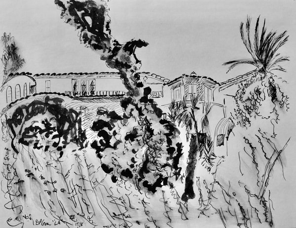 'hollywood Hills' Art   Cera Arts