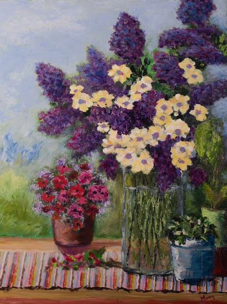 Tuscan Table Art | Carol Moon Art