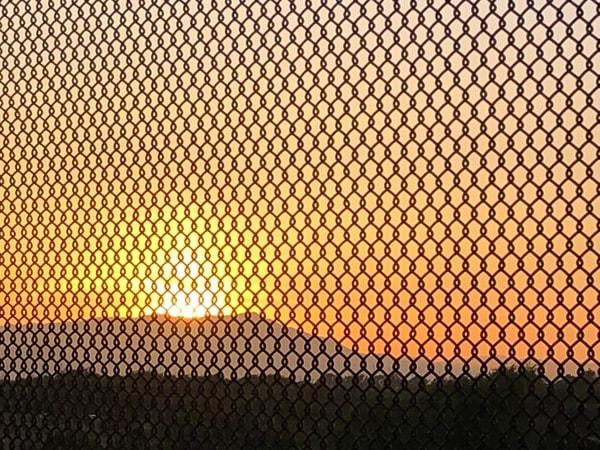 Caged Sunset Art | Off The Edge Art